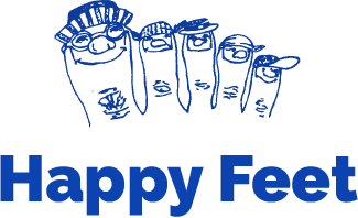Happy Feet De Rijp Logo